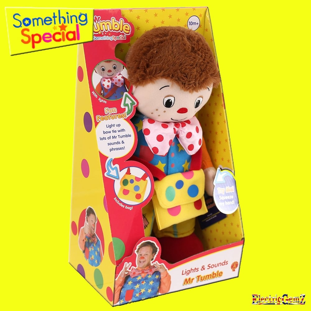 Something special 30cm mr tumble with lights and sounds - Something special ...