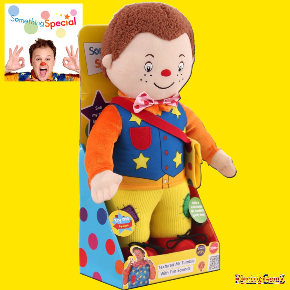 Something special 38cm textured mr tumble with fun sounds - Something special ...