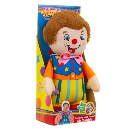 Something Special Mr Tumble 28cm Touch My Nose Sensory Soft Toy