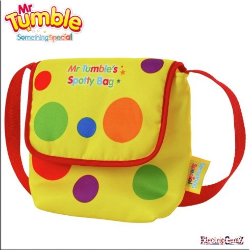 Something Special Mr Tumble Printed Spotty Bag
