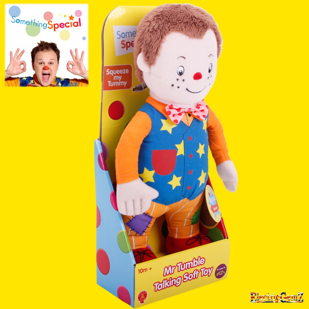 Something special mr tumble talking soft toy - Something special ...
