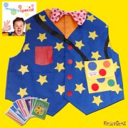 Something Special Mr Tumble Waistcoat & Pairs Game