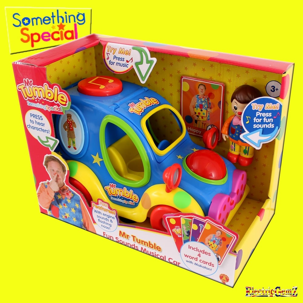 Something special mr tumble 39 s fun sounds musical car - Something special ...