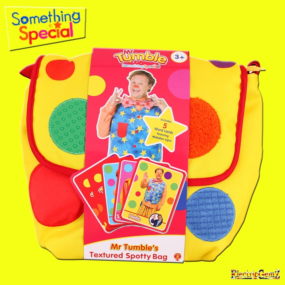 Something special mr tumble 39 s textured spotty bag - Something special ...