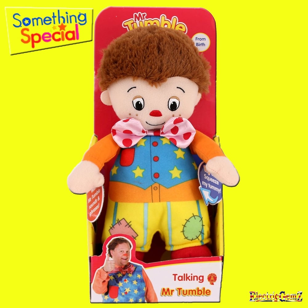 Something special talking mr tumble soft toy - Something special ...