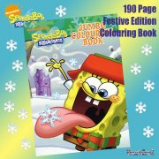 SpongeBob SquarePants Festive Jumbo Colouring Book