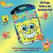 SpongeBob SquarePants Grab & Go Activity Pad