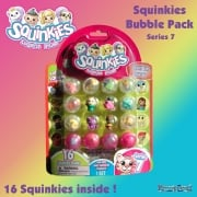 Squinkies Surprise 16 Piece Bubble Pack Series 7