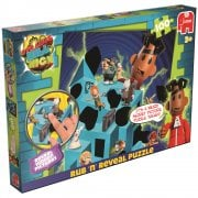 Strange Hill High 100 Piece Rub 'n' Reveal Jigsaw Puzzle