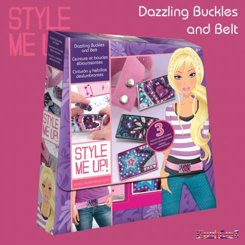 Style Me Up Dazzling Buckles and Belt