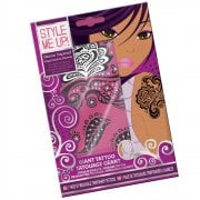 Style Me Up Temporary Tattoo - Henna Inspired