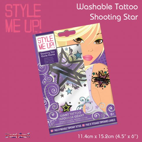 Style Me Up Temporary Tattoo - Shooting Star