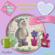 Me to You Tatty Teddy Tatty Teddy Special Edition Sparkle Set - Buck the Beaver