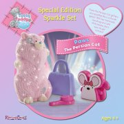 Me to You Tatty Teddy Tatty Teddy Special Edition Sparkle Set - Paws the Persian Cat