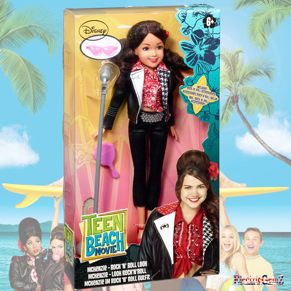 From Teen Beach Movie Toys : Teen beach movie rock n roll deluxe doll mckenzie