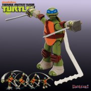 Teenage Mutant Ninja Turtles Deluxe Ninja Action Figures - Leonardo