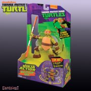 Teenage Mutant Ninja Turtles Deluxe Ninja Action Figures - Michelangelo