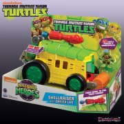 Teenage Mutant Ninja Turtles Half Shell Heroes Electronic Shell Raiser with Leonardo Figure