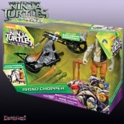 Teenage Mutant Ninja Turtles Out of the Shadows Rocksteady with Rhino Chopper