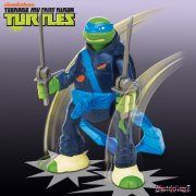 Teenage Mutant Ninja Turtles Throw n Battle Figure - Leonardo
