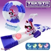 Teksta Micro-Pets Adventure Playset - Kitty
