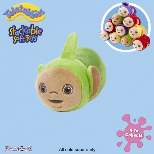 Teletubbies Stackable Plush Soft Toy - Dipsy