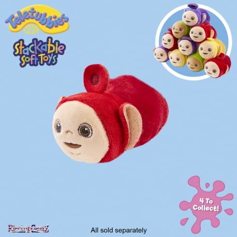 Teletubbies Stackable Plush Soft Toy - Po