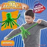 The Original Stretch Armstrong Mini Stretch Octopus - Green