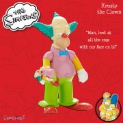 The Simpsons Talking Figures Collection - Krusty the Clown