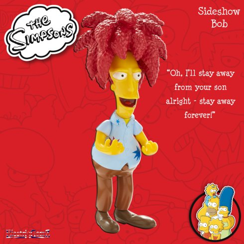 The Simpsons Talking Figures Collection - Sideshow Bob