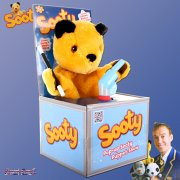 The Sooty Show Pop Up Sooty Puppet Show with Wand & Water Pistol