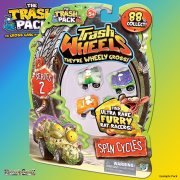 The Trash Pack Series 2 Trash Wheels 4 Pack - Spin Cycles