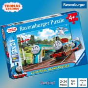 Thomas & Friends Thomas and Friends 2 x 24 Piece Jigsaw Puzzles
