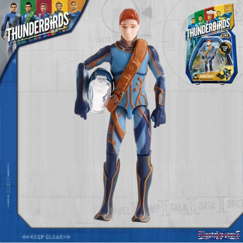 Thunderbirds Action Figures - John