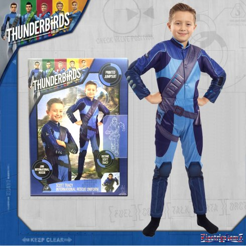 Thunderbirds Scott Tracy International Rescue Uniform
