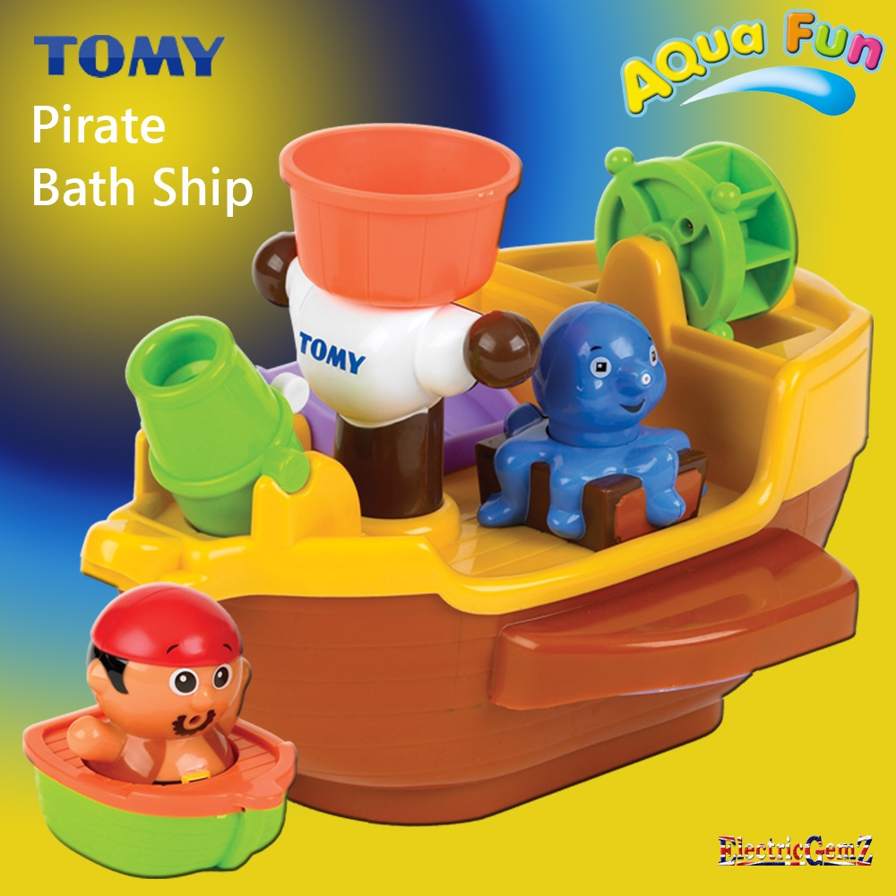 Tomy Aqua Fun Pirate Bath Ship Bath Toy