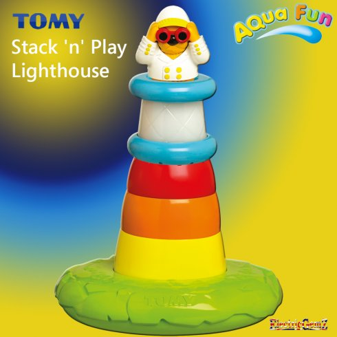 Tomy Aqua Fun Stack 'n' Play Lighthouse