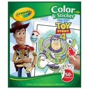 Crayola Toy Story 4 Colour and Sticker Book