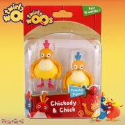 Twirlywoos Character Twin Pack - Chickedy & Chick
