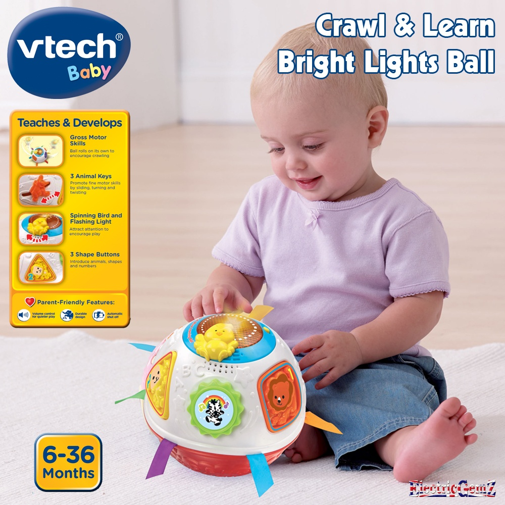 Vtech Baby Crawl Amp Learn Bright Lights Ball