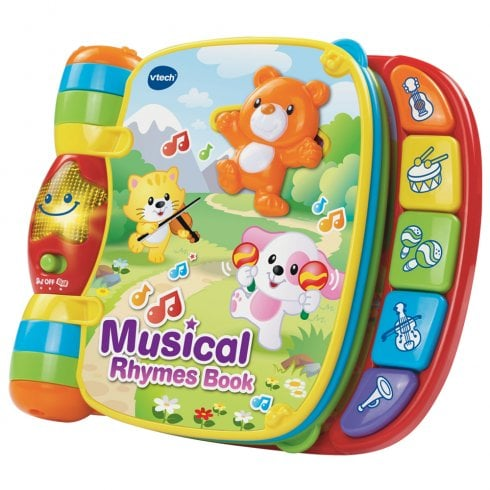 vTech Baby Interactive Musical Rhymes Book