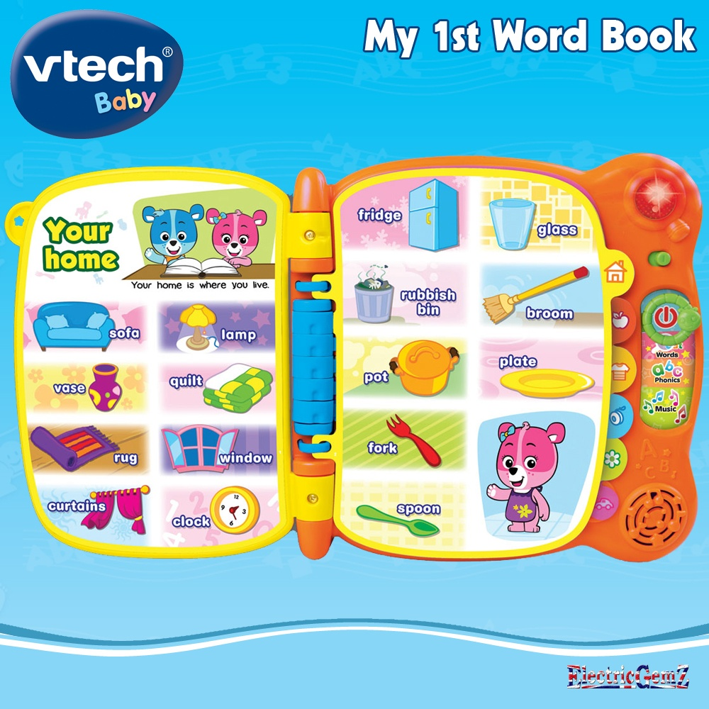 vtech baby my 1st word book
