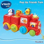 vTech Baby Pop-Up Friends Train