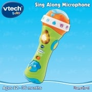 vTech Baby Tiny Touch Sing Along Microphone