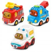 vTech Baby Toot-Toot Drivers 3 Car Pack Emergency Vehicles