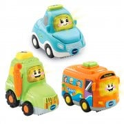 vTech Baby Toot-Toot Drivers 3 Car Pack Everyday Vehicles