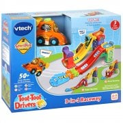 vTech Baby Toot-Toot Drivers 3-in-1 Raceway with Racecar