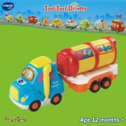 vTech Baby Toot-Toot Drivers Articulated Fuel Tanker
