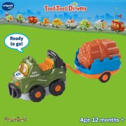 vTech Baby Toot-Toot Drivers Off−Roader with Trailer