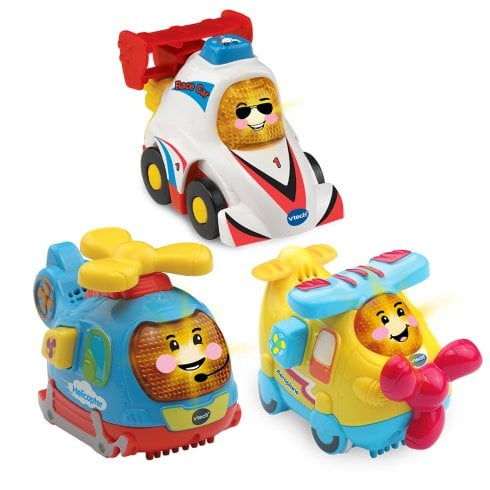vTech Baby Toot-Toot Drivers Speedy Vehicles - Car, Helicopter & Aeroplane